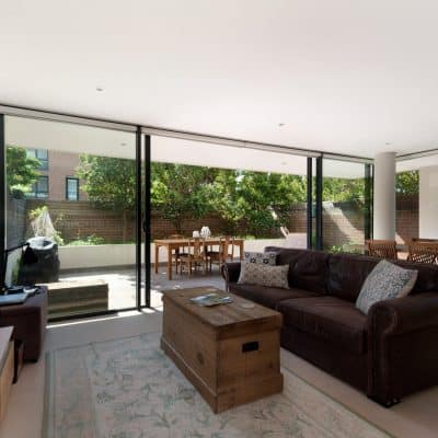 bifolding or sliding doors
