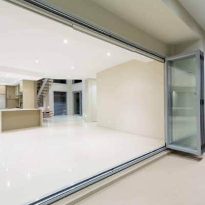 Schuco ASS70 Bifolding Door in a new home