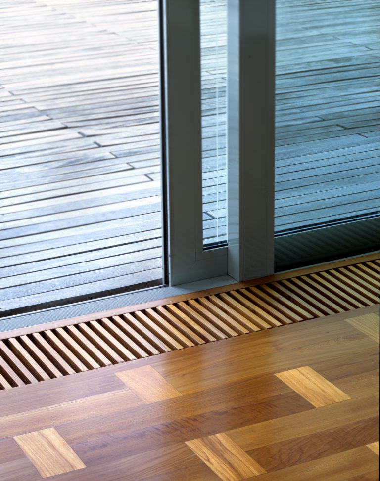 Schuco ASE60 sliding door low threshold