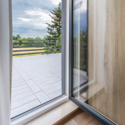 open tilt and turn windows for cleaning