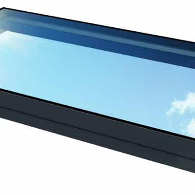 rectangular walk-on glass rooflight