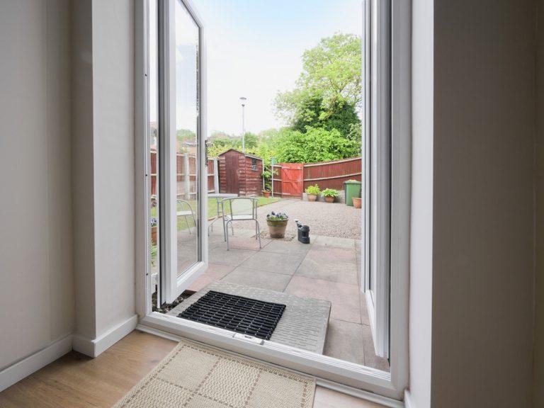Open alitherm double doors