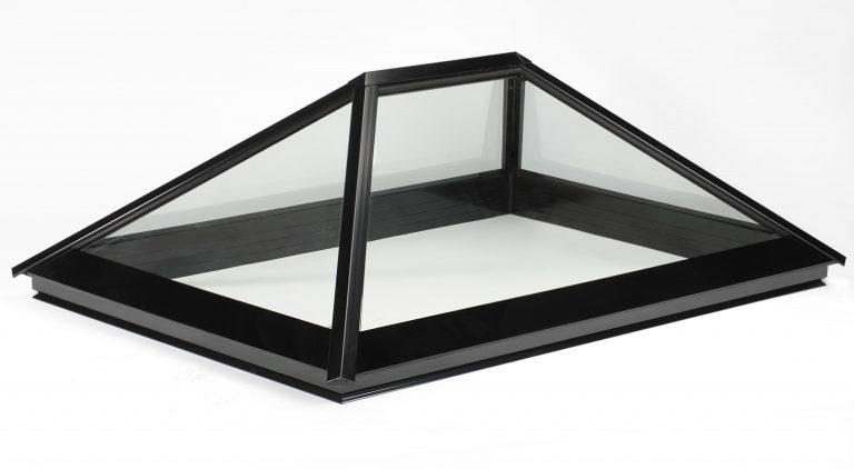 black colour lantern roofs