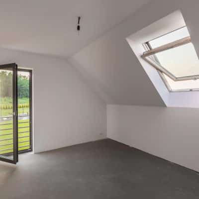 opening flat rooflights beside Origin single doors