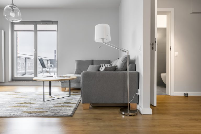 Origin single doors in modern grey colour