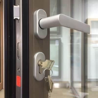 Schuco ASS80 bifolding door handle