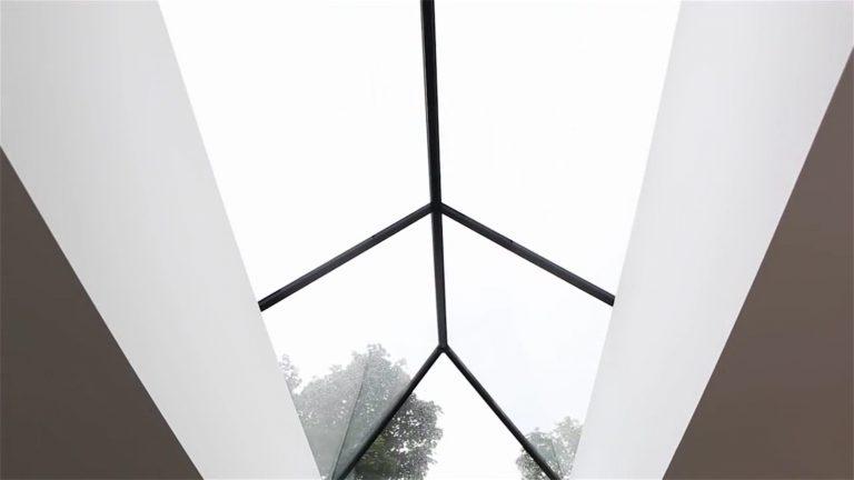 inside view of modern lantern roofs