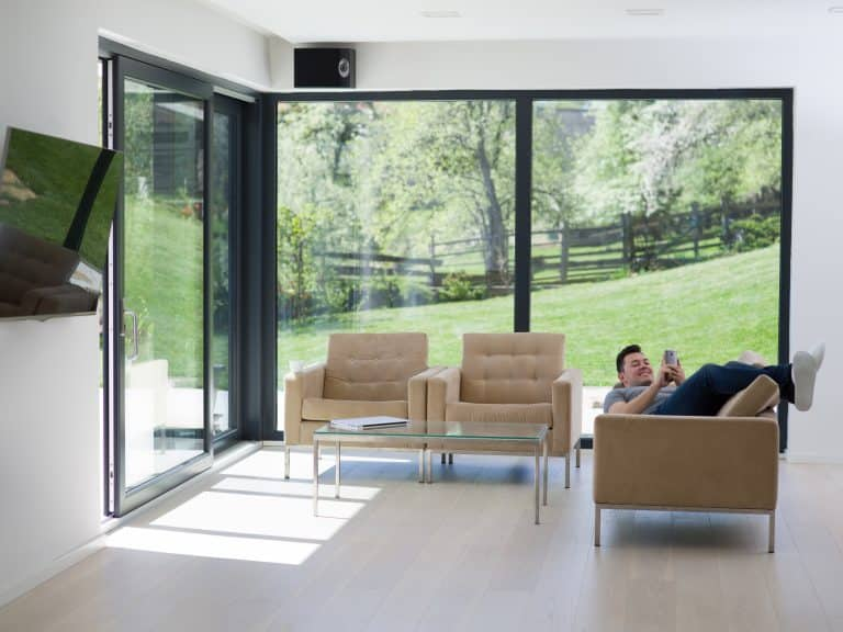 black Dutemann Glide-S sliding door