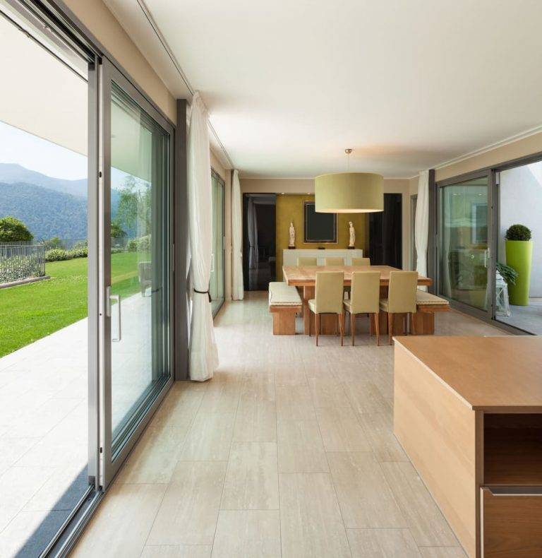 Dutemann Glide-S sliding door in a new home