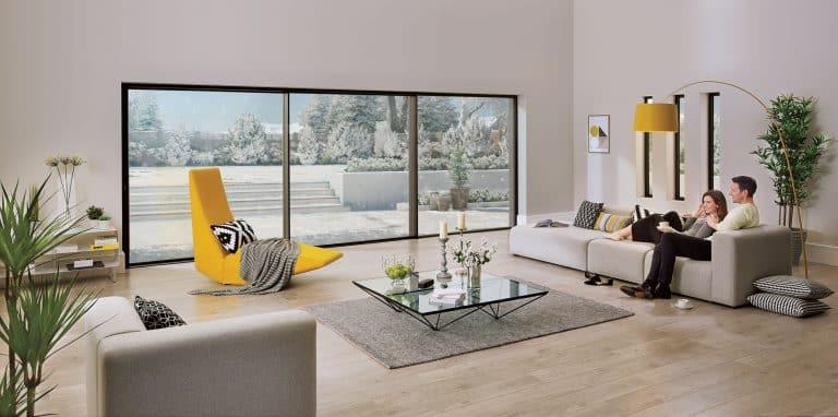 living room with Origin OS-20 Artisan