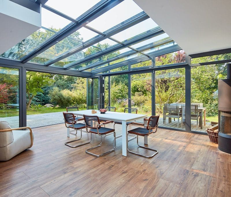 solarlux wintergarden glazed extension