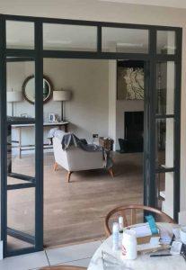 steel-look interior doors in London